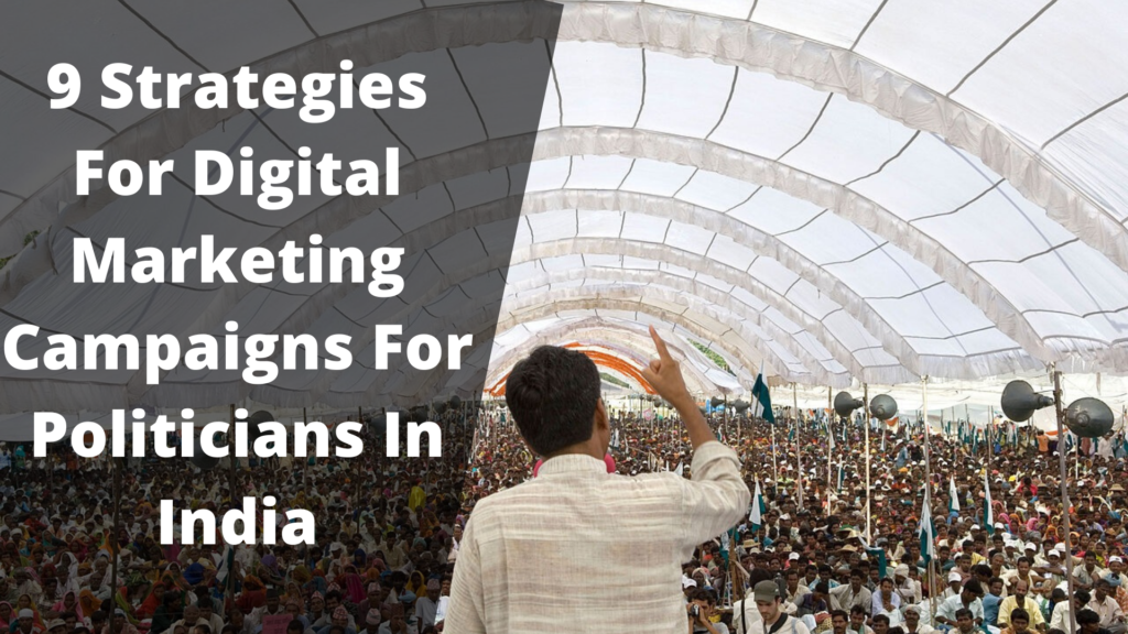 9 strategies for digital marketing for politicians