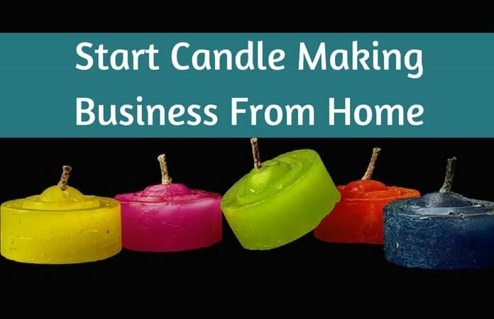This specifies how can a housewife earn money at home by making candles