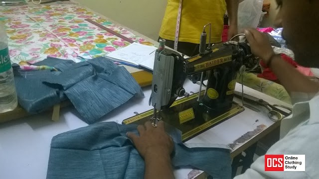 The image shows how can a housewife earn money at home by tailoring
